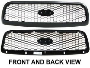 1998 2011 Ford Crown Victoria Front Honey Comb Grille Smooth Finished New