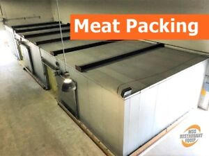 23 x78 x12 Fork Lift Drive in Combo Cooler freezer
