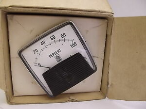 Dw 91 General Electric Panel Board Meter