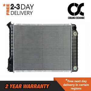 Radiator For Llv S10 Blazer S15 Jimmy Sonoma 2 2 L4 2 8 V6