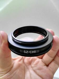 1pc Original Olympus Sz chi Plate Lens For Sz30 Sz40 Sz60 S51 s61 Etc Microscope