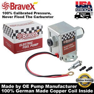 12v Standard Universal Electric Fuel Pump For Gas Diesel 2 5 4psi Low Pressure