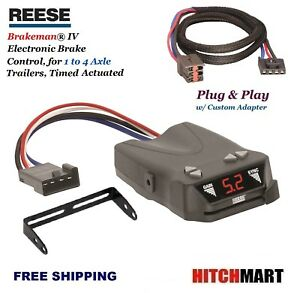 Reese Trailer Brake Control Adapter For Ford Lincoln Mercury Land Rover