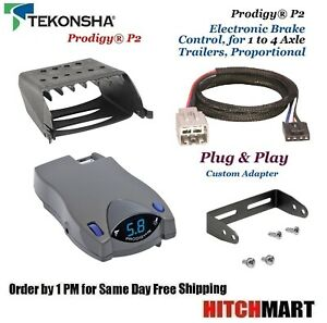 Prodigy P2 Trailer Brake Control Adapter For 05 07 Ford F250sd F350sd 90885