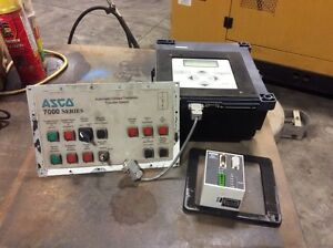 Asco 7000 Series Transfer Control Center Automatic Transfer Switch Set