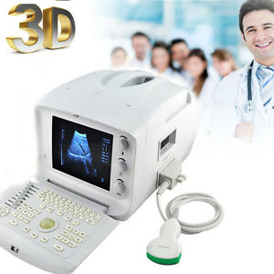 3d Doppler Portable Digital Ultrasound Machine Scanner 3 5mhz Convex Probe