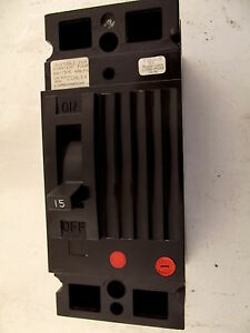 Fpe Federal Pioneer 15a 480v 2p Circuit Breaker Ced Frame Ced124015