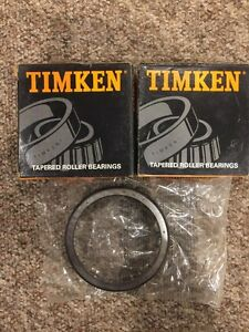 New Lot Of 2 Timken 563 Tapered Roller Bearings Single Cup Taper Cup