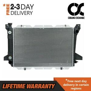 1451 Radiator For Ford Bronco F 150 F 250 F 350 5 0 5 8 7 5 V8 2 Row