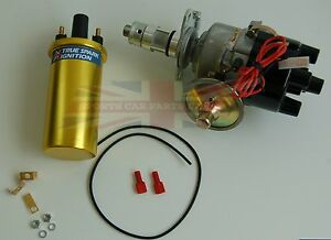 New 45d Electronic Ignition Distributor Sport Coil Austin Healey Sprite Bugeye