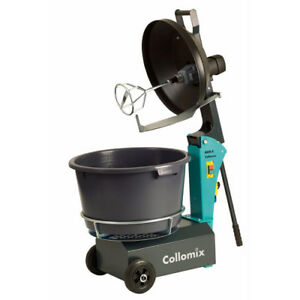 Collomix 17 Gal Aox s High speed Counter Rotating Mixer With Rimscraper