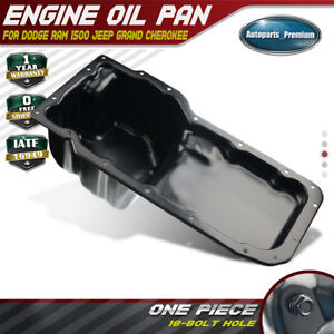 Engine Oil Pan For Dodge Ram 1500 Pickup 2002 2003 2004 V8 4 7l 53020678ad