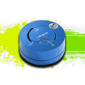 Nrg Anodized Steering Wheel Quick Release Adaptor Anti theft Security Lock Blue