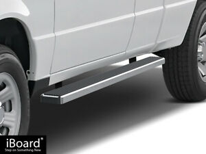 4 Iboard Running Boards Fit 98 11 Ford Ranger Mazda B Series Super Cab 2dr
