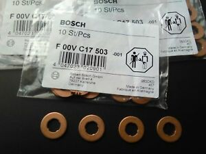 Bosch Diesel Fuel Injection Nozzle Holder Gasket Washer Injector Shim F00vc17503