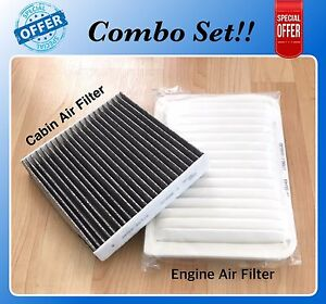 Engine Carbonized Cabin Air Filter For Camry Venza 4cyl 07 17 A5649 C35667