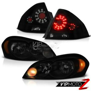 2006 2013 Chevy Impala Ss Rear Brake Lamps Headlights Smd Factory Style Assembly