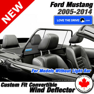 Love The Drive Convertible Wind Deflector For Ford Mustang 2005 2014 Gt Gt500