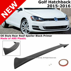 15 16 Volkswagen Golf Hatchback Sport Roof Spoiler Rear Pedestal Wing