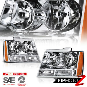 2007 2014 Chevrolet Tahoe Avalanche Suburban Factory Style Front Head Lights