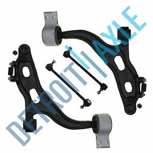4pc Front Lower Control Arm Kit 2005 2007 Ford Freestyle Five Hundred Montego