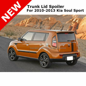 For Kia Soul Sport 4dr 10 13 Trunk Spoiler Rear Color Matched Painted Molten 1e