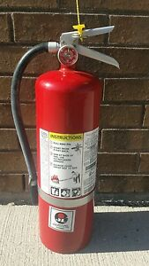 10 Lb Abc Fire Extinguisher Fully Charged