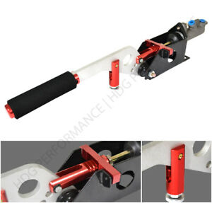 Universal Hydraulic Drift racing E brake Handle System With Pump Red Silver
