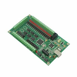 Mach3 200khz 3axis Cnc Usb Card Breakout Board Interface For Cnc Milling