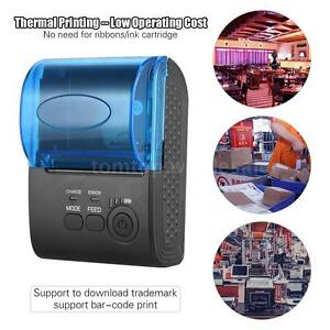 Pos 5805dd 58mm Bt Wireless Thermal Receipt Printer For Ios Android Windows