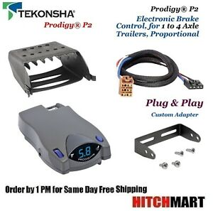 Prodigy P2 Brake Controller W Adapter For 1999 2002 Silverado Sierra 90885