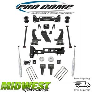 Pro Comp 4 Inch Lift Kit With Es9000 Rear Shocks Fits 2015 2017 Ford F150 4wd