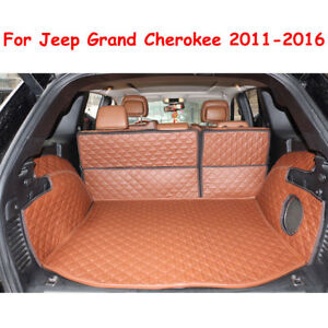 Trunk Boot Liner Cargo Mat Carpet For Jeep Grand Cherokee 2011 2017 No Subwoofer