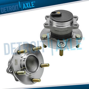 Rear Wheel Bearing And Hub Set For 2008 2013 Mitsubishi Outlander Lancer Fwd