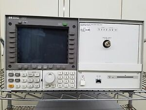 Hp 70952b Optical Spectrum Analyzer With Hp 70004a Display