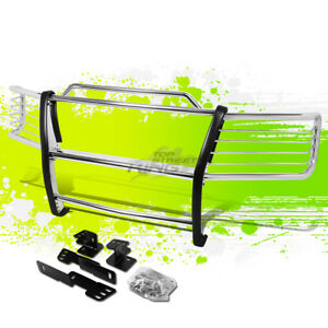 Chrome Steel Bumper Brush Grill Protector Guard For 00 06 Chevy Tahoe suburban