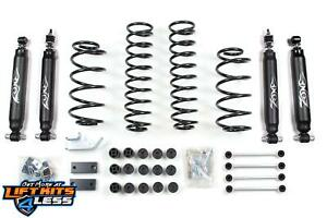 1997 2006 Jeep 4 25 Tj Wrangler Full Suspension Lift Kit Zone Offroad 4 1 2