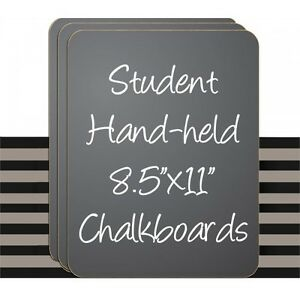60 Set Student Handheld Laptop Blk grn Chalkboards 8 5 X 11 Made In Usa 60