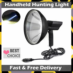 Cree 100w Handheld Hid 9 Spotlight Hunting Camping Search Light Newest Type