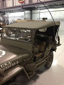 Jeep Willys Mb Ford Gpw Canvas Summer Top G 503