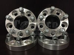 Set Of 4 Wheel Spacers 1 25 Aluminum 5 Lug 5x4 5 Bolt Fit Ford Mustang Gt 94 14