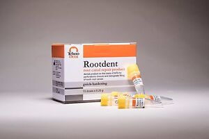 Dental Quick Hardening Mta Rootdent Root Canal Repair Product 0 5g 2 X 0 25g