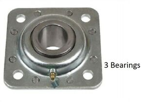 3 Of St491a Disc Harrow Bearing 1 3 4 Round Bore Fits Many International Discs