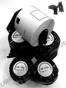 Internet Shipping Labels 1202 Brother 100 Rolls Includes 2 Reusable Cartridges