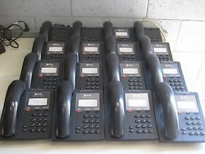 Lot Of 16 Mitel Ip 5201 Office Business Phones 50002815 With Stands b6