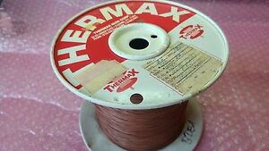 Thermax 100 Feet Silver Plated Teflon Wire Awg 26 Brwon 30 Meter