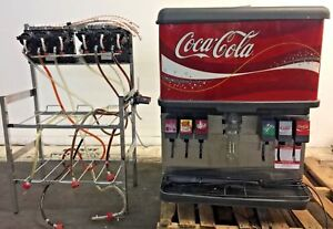 Cornelius 6 Flavor Ice And Beverage Fountain Coke Dispenser