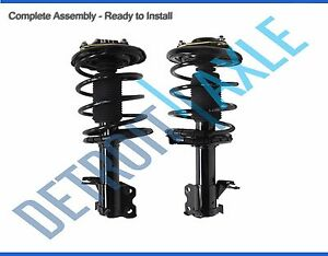 For 2000 2001 Nissan Maxima Infiniti I30 Front Struts Coil Spring Pair