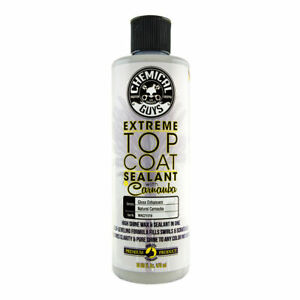 Chemical Guys Wac21016 Extreme Top Coat Carnauba Wax And Sealant In One 16 Oz