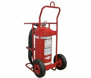 Amerex Halotron 674 Abc Wheeled Fire Extinguisher 150 Lbs With 50 Ft Hose